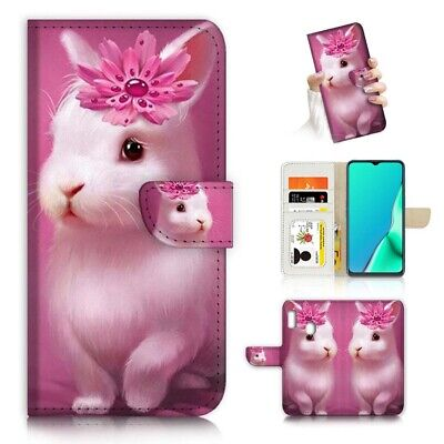 AU12.99 • Buy ( For Huawei Y7 2019 / Y7 Pro 2019 ) Case Cover PB23095 Pink Bunny Rabbit