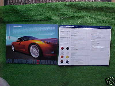 $2.25 • Buy 2007 Corvette Z06 Coupe Convertible Information Facts Card NEW