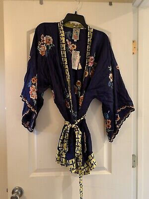 $115 • Buy JOHNNY WAS Zuki Kimono Womens Size XL