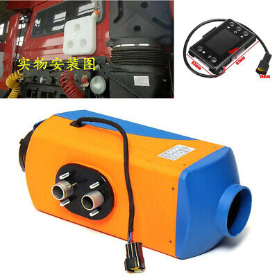 AU378.95 • Buy 1x Car Trucks Bus Adjustable 3KW-5KW Air Diesel Heater With Silencer LCD Switch