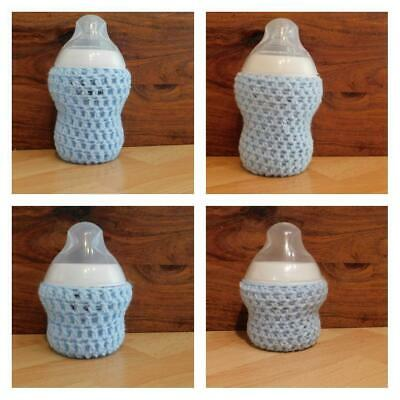 £3.66 • Buy Crochet Baby Bottle Cover HANDMADE TOMMEE TIPPEE Option PERSONALIZED Available