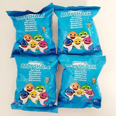 $16.95 • Buy Pinkfong Baby Shark Mini Plush Blind Bags Lot Of 4 NEW SEALED