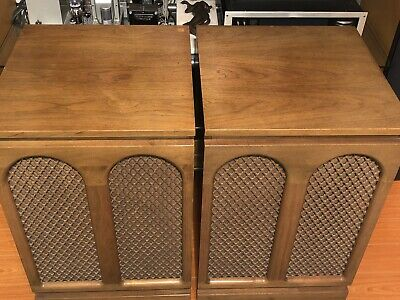 $499 • Buy Barzilay Speaker Cabinets & Center Console Great For JBL, Altec, Tannoy Vintage