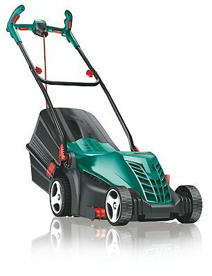 Bosch Rotak 370 ER Ergoflex Electric Rotary Lawnmower 1400W Motor Rear Roller • 169.99£