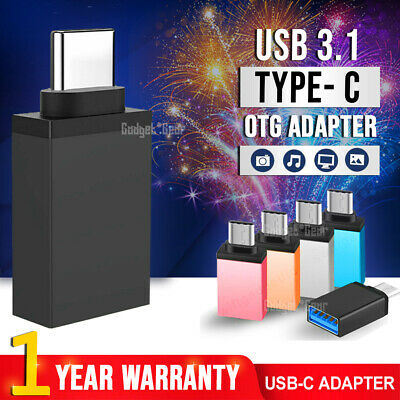 AU7.49 • Buy USB 3.1 Type C Male To USB 3.0 PREMIUM A Female Converter USB-C Data OTG Adapter