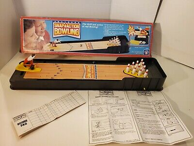 $73.99 • Buy Snap Action Bowling Vintage Shelcore 1988 Game - Complete In Box W/bowler Pins