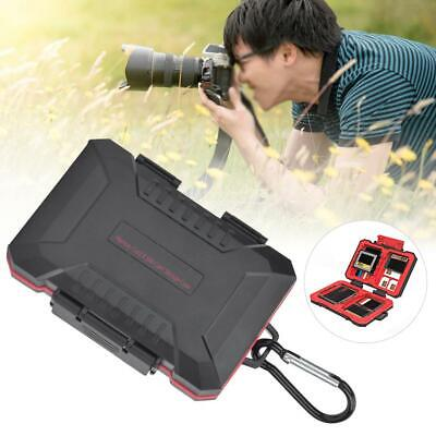 Camera Memory/SIM Card Case Holder Waterproof Storage Carrying Pouch Wallet Box • 5.14£