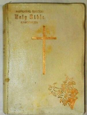 Memorial Edition Holy Bible Illustrated • 1.42£