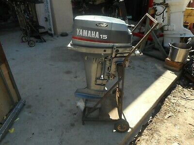AU1 • Buy Yamaha Outboard 15 Hp 2 Stroke , Short Shaft Wrecking All Parts From $1.00