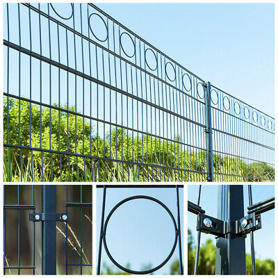 HOME DELUXE Double Rod Matt Fence Fence Industrial Fence Wire Mesh Fence Fence • 3,079.40£