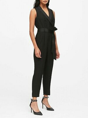 $63.99 • Buy NWOT Banana Republic Tuxedo Jumpsuit, BLACK SIZE 8T 8 T            #517502 T0415