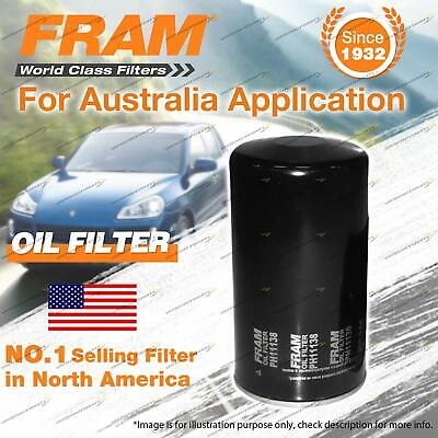 AU50.71 • Buy Fram Oil Filter For Isuzu D-MAX TF MU UES73EW WIZARD UES UES73 Refer Z600