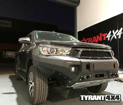 AU3600 • Buy Rival Bull Bar & Synthetic Electric Winch To Suit Toyota Hilux N80 2015+ SR5 SR