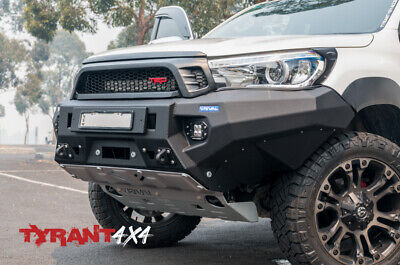 AU3600 • Buy Rival Bull Bar & Synthetic Electric Winch To Suit Toyota Hilux N80 2018 TRD SR5