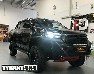 AU3600 • Buy Rival Bull Bar & Synthetic Electric Winch To Suit Toyota Hilux N80 2019 SR5 WORK