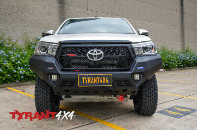 AU2690 • Buy Rival Bull Bar To Suit Toyota Hilux N80 2019+ Bumper Bar Protection SR5 Workmate