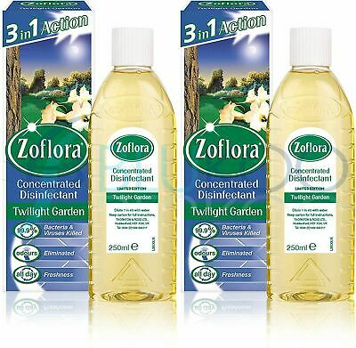 Zoflora Concentrated Disinfectant Twilight Garden - 250ml (Pack Of 2) • 8.17£