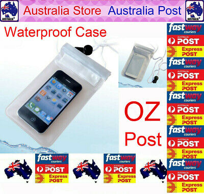 AU3.99 • Buy Clear Waterproof Dry Bag Pouch Case Holder Touchscreen Cover For Phone OZ Post