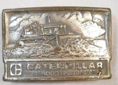 $14.99 • Buy Vintage Caterpillar Belt Buckle - Track Type Tractor Bulldozer - Leavens Mfg Co
