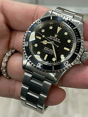 $ CDN67878.19 • Buy VINTAGE Rolex Submariner 5512 Stainless Steel Black Dial 1964 Glossy Dial