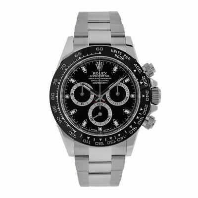 $ CDN34914.65 • Buy Rolex Cosmograph Daytona Stainless Steel Black Ceramic Dial 40MM Watch 116500LN