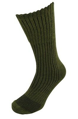 1/2/3 Pairs MILITARY Warm Thermal Wool Blend Heat Max Long Boot Socks Army Green • 3.90£