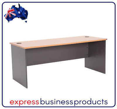AU179 • Buy Shape Furniture Office Straight Desk - Assorted Dimensions & Colours *FREE POST*