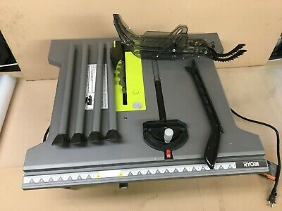 RYOBI RTS12 Portable Table Saw 10 In. 15 Amp Motor Blade Guard System, ZX002 • 131.48£