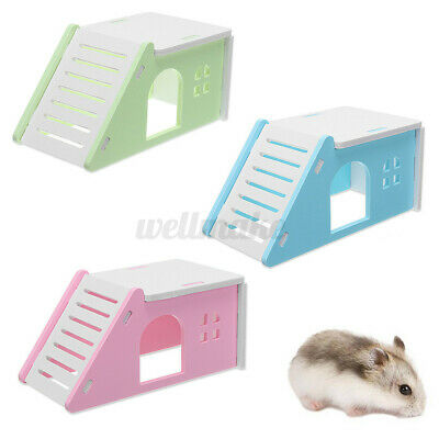 Pet Nest Mouse Hamster Bed Hammock Rat Squirrel House Bedding Cage With  • 4.93£