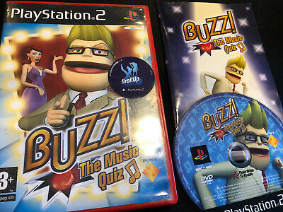 Buzz: The Music Quiz - PlayStation 2 (PS2) - Requires Buzzers • 3.95£