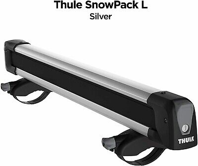 $135 • Buy THULE SnowPack L 7326 Roof Rack (6 Skis / 4 Snowboards) - NEW Without Box