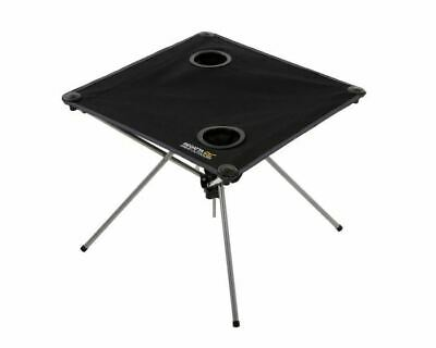 £14.99 • Buy Regatta Prandeo Folding Table With Cup Holders Portable Foldable Camping