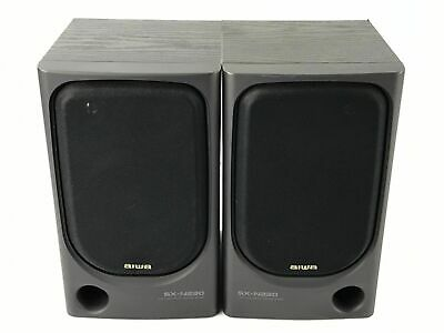 $20 • Buy Aiwa NSX-220U Bookshelf Stereo System Replacement Speakers SX-N220 - 30W 4 Ohm
