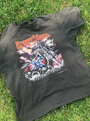 $ CDN75.74 • Buy Vintage 1992 Easy Riders T-shirt Size XL Rebel Forever 50/50 Made In USA