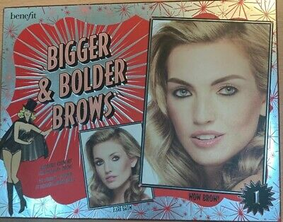 Benefit Eyebrow Kit Brows Light Bigger And Bolder Brows Shade 1 • 27£