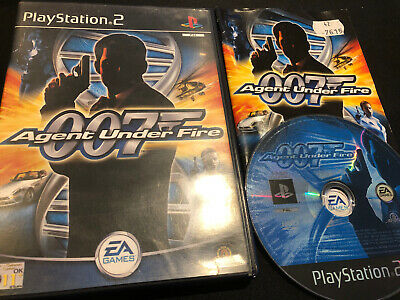 James Bond 007 Agent Under Fire - PlayStation 2 (PS2) • 1.99£