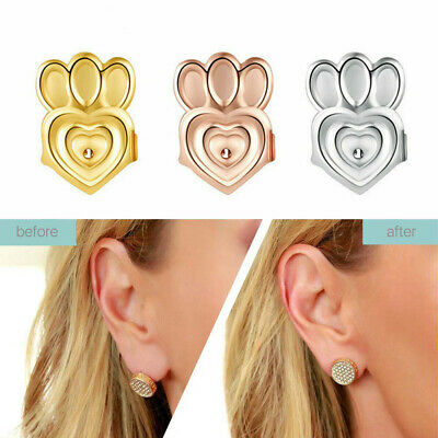 AU5.59 • Buy Magic Earring Lifters Ear Lobe Support Backs Hypoallergenic Firmly 3 Pairs