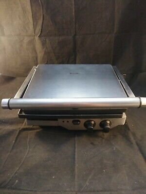 BREVILLE GRILL (BGR400XL), Stainless Steel, Sandwich Panini Press. • 50.60£