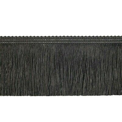 £1.99 • Buy 6cm Black Chainette Brush Fringe Trimming Sewing Crafts Edging Curtains Cushion