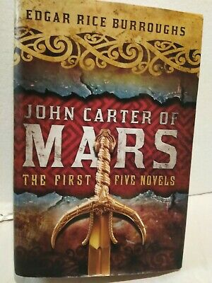 $19 • Buy Edgar Rice Burroughs John Carter Of Mars The First Five Novels Princess Of Mars