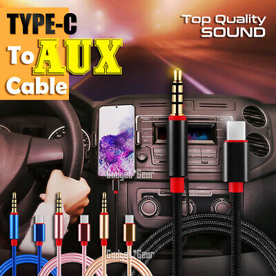 AU6.45 • Buy Type-c To 3.5mm Audio Aux Cable 3.5mm Male To USB-C Headphone Car Stereo Cord