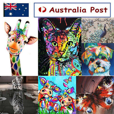 AU13.99 • Buy 5D Diamond Painting Embroidery Cross Craft Stitch Pictures Arts Mural Decor