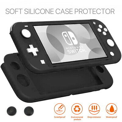 AU7.99 • Buy Nintendo Switch Lite Anti-Slip Silicone Protective Skin Case Cover W Thumb Grips