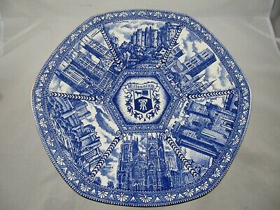 RINGTONS Millennium 2000 Collectors' PLATE By Wade • 12£