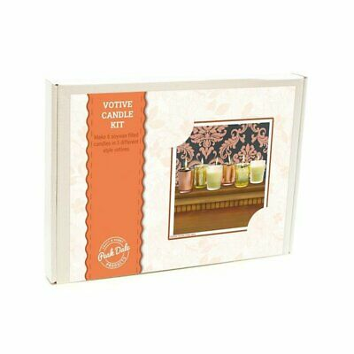 Votive Candle Making Kit - Soy Wax • 12.99£