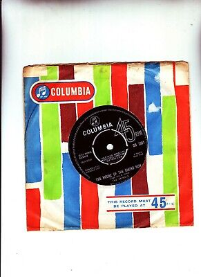 £6 • Buy The Animals The House Of The Rising Sun 1964 Classic
