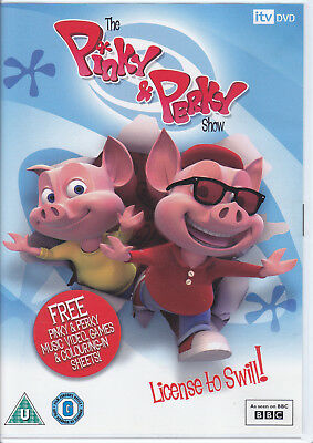The Pinky And Perky Show - License To Swill UK R0 DVD • 9.99£