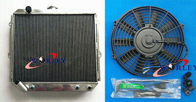 AU655 • Buy 3 Row Aluminum Radiator +fan For Pajero NH NJ NL NK 3.5L V6 Petrol 94-00