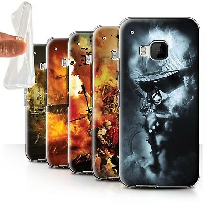 AU11.90 • Buy STUFF4 Gel/TPU Case/Cover For HTC One/1 M9/War Battle Gaming Art