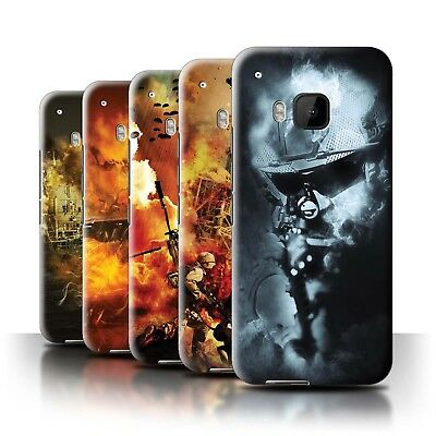 AU11.90 • Buy STUFF4 Back Case/Cover/Skin For HTC One/1 M9/War Battle Gaming Art